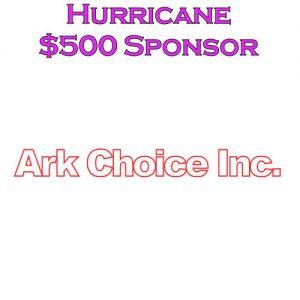 Sponsor Hurricane - Ark Choice Inc