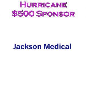 Sponsor Hurricane - Jackson Medical