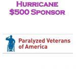 Sponsor Hurricane - Paralyzed Veterans of America