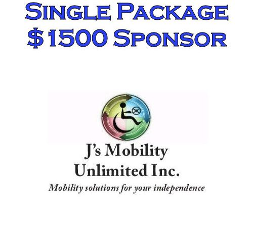 Sponsor Single - J's Mobility Unlimited Inc